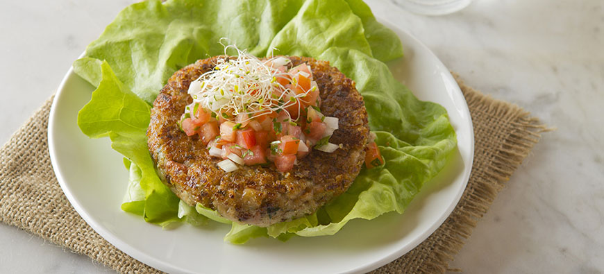 Quinoa and bean burger - simple recipe - The Kitchen doesn't Bite - Doreen Colondres