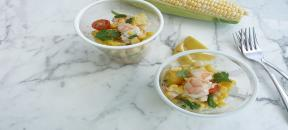 Fresh Corn Shrimp Salad